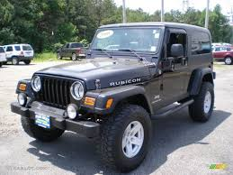 jeep rubicon black black 2006 jeep wrangler unlimited rubicon 4x4 exterior photo