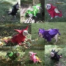halloween fleece french bulldog boston terrier pug dog froodies hoodies halloween