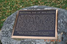 national day of mourning historical marker
