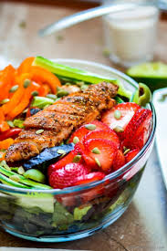 blackened chicken chopped salad recipe chefdehome com