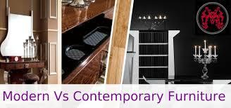 Modern Vs Contemporary Furniture Whats The Difference - Contemporary vs modern interior design