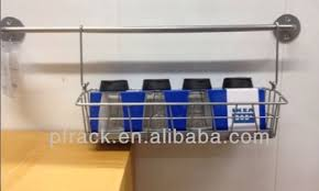 Stainless Steel Wall Spice Rack Hanging Kitchen Metal Stainless Steel Wall Mounted Metal Spice