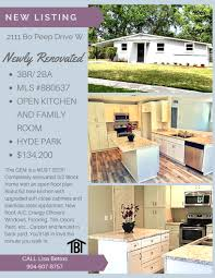 just listed 3br 2ba newly renovated hyde grove area