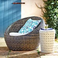 Patio Furniture World Market by All Weather Wicker Formentera Egg Outdoor Chair World Market