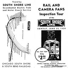 Map To Chicago by Submission Historical Map South Shore Line Transit Maps