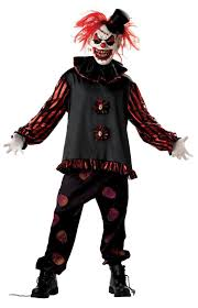 scary clown costumes carver the clown costume scary costumes