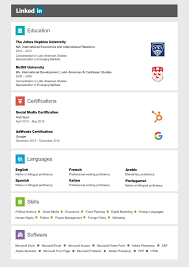 Linkedin Resume Template Captivating Linkedin Resume Search 87 For Your Resume Examples