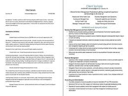 Sample Resume For Health Care Aide by Sample Professional Resume Revisions