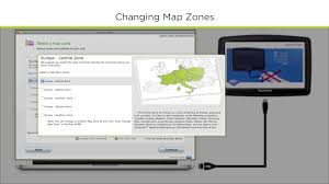 Tomtom Maps How To Change A Map Zone Using Tomtom Home Youtube