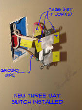 Light Switch Replacement How To Wire A Three Way Switch Wiring Electrical Repair Topics