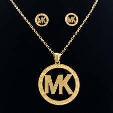 stainless gold necklace images Cheap jewelry letter necklace find jewelry letter necklace deals jpg