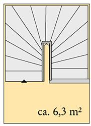 platzbedarf treppe raumbedarf