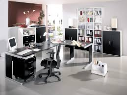 White Home Office Furniture Sets Interior Design Cozy Modern Contemporary Vibrant Home Office