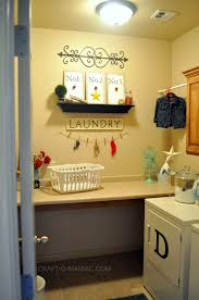 Cute Laundry Room Decor by Help In The Laundry Room Craft O Maniac