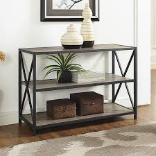 Metal And Wood Sofa Table by Lyka Metal And Wood 26