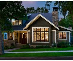 modern craftsman house plans modern home with beautiful exterior designs and landscape