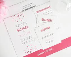 confetti wedding invitations u2013 wedding invitations