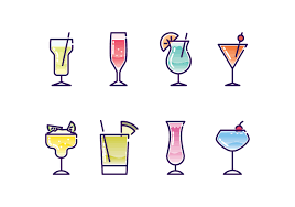 cocktail vector cocktail icon vector invizibil