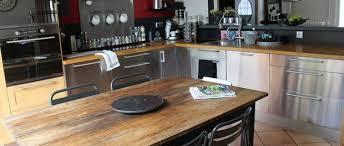 cuisine ikea inox résultat de recherche d images pour cuisine zinc bois cuisine
