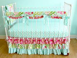 bumperless kumari garden crib bedding lottie da baby