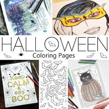 cute halloween coloring pages hattifant