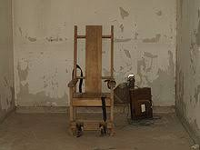 Thomas Edison Electric Chair Electric Chair Wikipedia