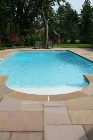 pool patio pavers smooth coping with natural riven indian sandstone patio paving