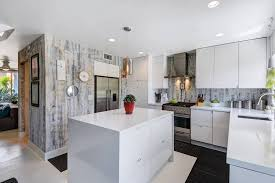 reclaimed white oak kitchen cabinets spice up your kitchen with a peel and stick backsplash