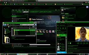 themes download for pc windows 10 windows 7 8 10 virtual matrix theme by xfluing on deviantart