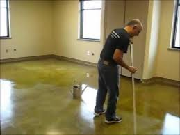 how to apply acrylic floor finish