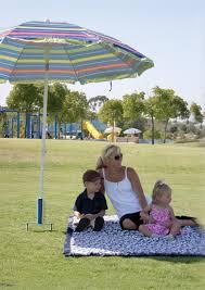 Grass Patio Umbrellas Umbrella Holders