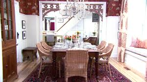 small home interior design videos dining room decorating from everyday to holiday hgtv