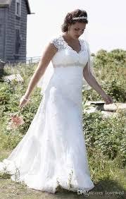discount 2017 cap sleeve lace over satin plus size wedding dresses