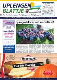 Aza Bad Zwischenahn Uplengen Blattje Nr 78 September 2015 By Uplengen Blattje Issuu