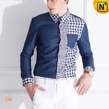 mens fashion sleeve cotton shirts cw114530