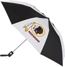 amazon com washington redskins auto folding umbrella golf