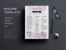 Best Resume Cover Letters by 17 Best Chic Modern Resume Cv Templates Images On Pinterest