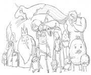 free adventure sae9a coloring pages printable