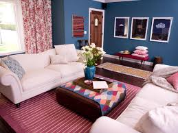 red and blue living room u2013 home decoration