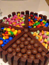 easy peasy maltesers kit kat birthday cake the finchley kitchen