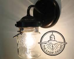 Flush Mount Wall Sconce Plug In Mason Jar Wall Sconce Light Farmhouse Flush Mount