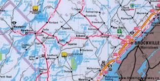 Map Of Ontario Ontario Highway 42 Route Map The King U0027s Highways Of Ontario