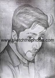 hand drawn pencil sketch from photos photo to painting portraits f u2026