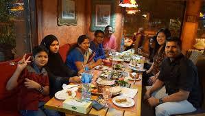 family dinner picture of veranda restaurant bahrain manama