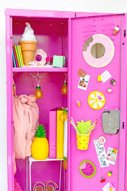 Ideas For Locker Decorations Colorful Diy Locker Decoration Ideas