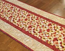 quilted table runner etsy