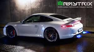 porsche 911 carrera gt3 rs porsche armytrix exhaust sound 911 gt3 rs turbo s carrera s