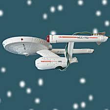 starship enterprise trek hallmark ornament 1991 trek