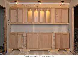 How To Build A Wall Cabinet by The Wall Of Cabinets Build Is Finished In Cabinet Lights