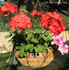 Hanging Flowers Life After Empty Nest D I Y Hanging Flower Baskets